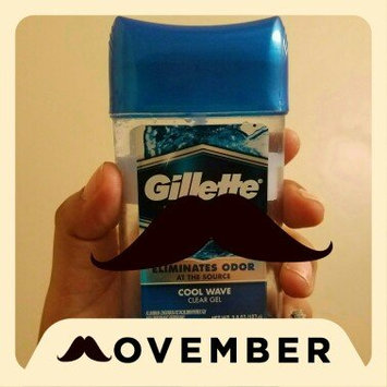 Photo of Gillette 3x Triple Protection System Anti-perspirant Deodorant Clear Gel Cool Wave uploaded by Lissette C.