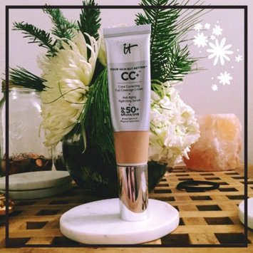 Photo of It Cosmetics CC+ Eye Color Correcting Full Coverage Cream Concealer SPF 50+ uploaded by Kasey B.