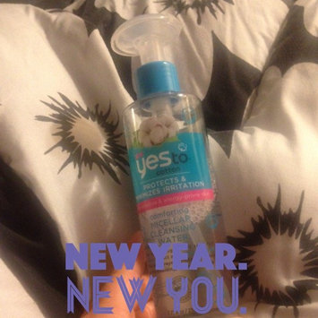 Photo of yes to cotton Comforting Micellar Cleansing Water uploaded by Misty D.