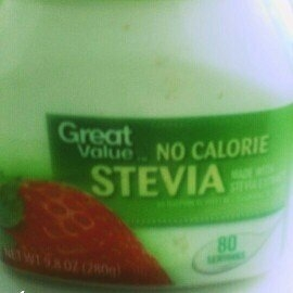 Great Value No Calorie Stevia, 9.8 oz uploaded by cheryl f.