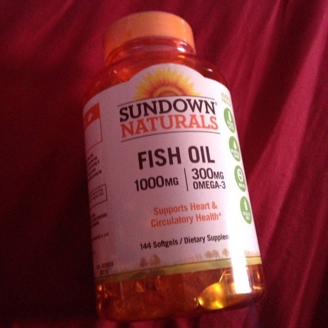 Sundown Naturals Dietary Supplement Fish Oil 1000mg - 200 CT uploaded by Brii R.