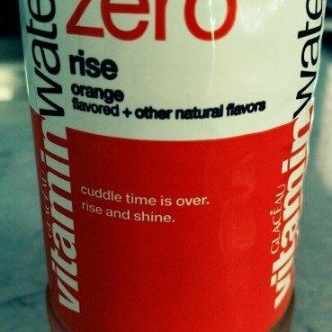 vitaminwater Zero Rise Orange uploaded by Soli R.