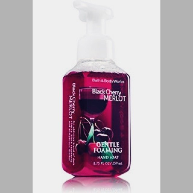 Bath & Body Works Bath and Body Works Black Cherry Merlot Gentle Foaming Hand Soap 8.75oz. Pack of 2 uploaded by Courtney H.