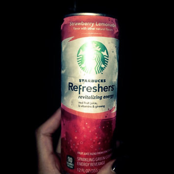 Photo of STARBUCKS® Refreshers® Strawberry Acai Lemonade VIA® Ready Brew uploaded by Molly B.