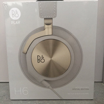 Photo of Bang Olufsen Bang & Olufsen BEOPLAY H6 Leather Covered Headphones - Black uploaded by Laura d.