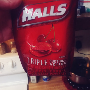Photo of HALLS Honey Lemon Cough Menthol Drops uploaded by Teran F.