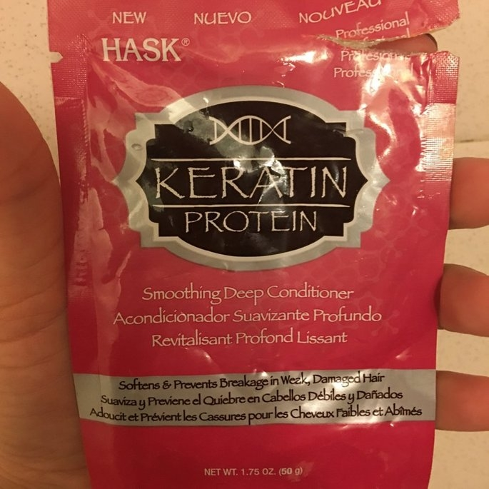 Hask Keratin Protein Smoothing Deep Conditioner uploaded by Ashley G.
