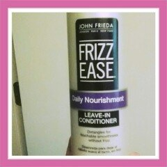 John Frieda Frizz-Ease Daily Nourishment Leave-In Conditioning Spray uploaded by Sarah Y.