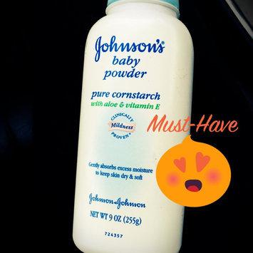 Photo of Johnson's® Baby Pure Cornstarch Powder Aloe Vera & Vitamin E uploaded by Tamitha S.