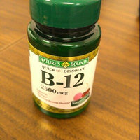 Nature's Bounty Natural B-12 Sublingual Vitamin 2500mcg uploaded by Denise D.