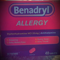 BENADRYL® Allergy ULTRATAB® Tablets uploaded by Amber H.