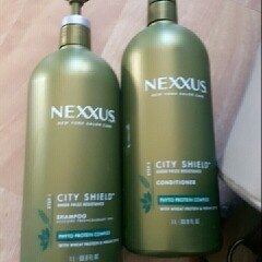 Nexxus City Shield Shampoo For All Hair Types uploaded by Miranda L.