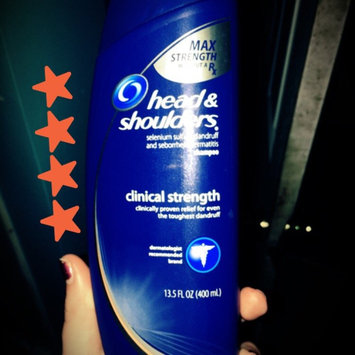 Photo of Head & Shoulders Clinical Strength Dandruff Shampoo uploaded by Allyson D.