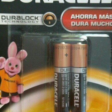 Duracell Coppertop AA Alkaline Batteries uploaded by angela g.