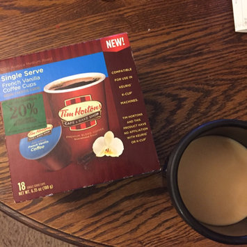 Photo of Tim Hortons Single Serve Coffee Cups, 100% Arabica Medium Roast, 24 ea uploaded by Felecia F.