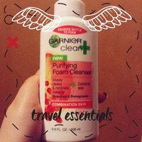 Garnier Clean+ Purifying Foam Cleanser uploaded by Jessica M.