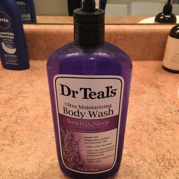Photo of Dr. Teal's Ultra Moisturizing Body Wash, Soothe & Sleep with Lavender, 24 fl oz uploaded by Wendy G.