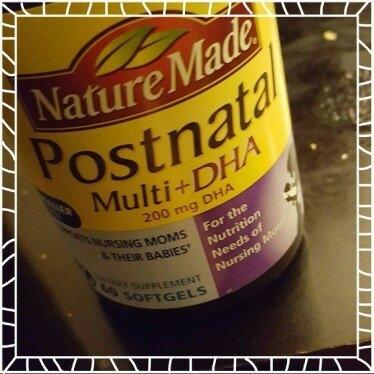 Nature Made Postnatal Multi+DHA 200 mg DHA uploaded by Bety P.