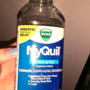 Photo of Vick's NyQuil Cold & Flu Relief Liquid  uploaded by Jackie A.