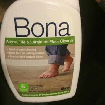 Photo of Bona Stone, Tile and Laminate Floor Cleaner 32oz Spray uploaded by Miranda W.
