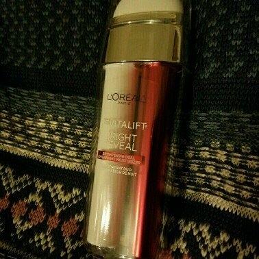 L'Oréal Paris Revitalift Bright Reveal Brightening Dual Overnight Moisturizer uploaded by Cristy M.