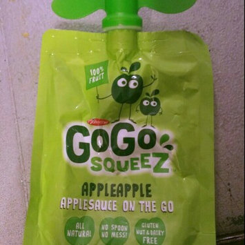 Photo of GoGo SQUEEZ APPLE STRAWBERRY APPLESAUCE ON THE GO uploaded by Rakiya V.