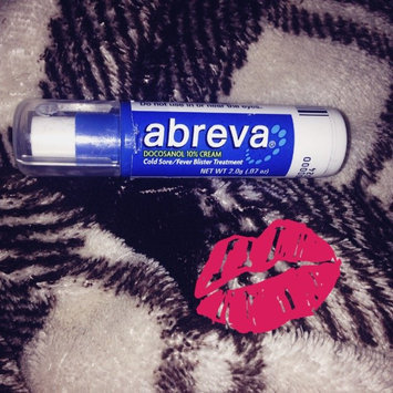Abreva Docosanol 10% Cream Cold Sore Treatment uploaded by Megan G.