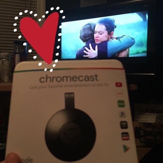 Chromecast uploaded by Erin K.
