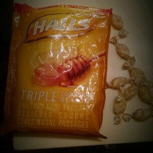 Photo of HALLS Honey Lemon Cough Menthol Drops uploaded by Kayla W.