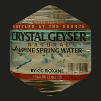 Crystal Geyser Natural Alpine Spring Water uploaded by Maria H.