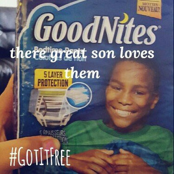 GoodNites® Bedtime Pants for Boys L/XL uploaded by Gema G.