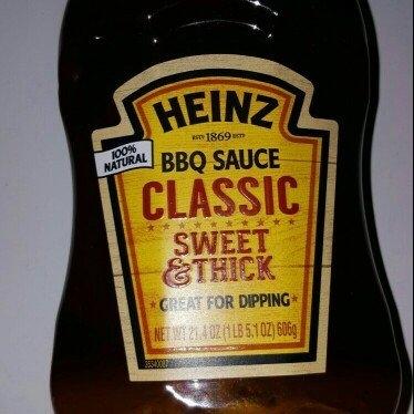Heinz Classic BBQ Sauce 18.6 oz. Bottle uploaded by Mary B.