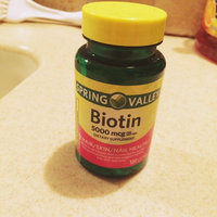 Spring Valley  Biotin Supplement uploaded by Jenna C.