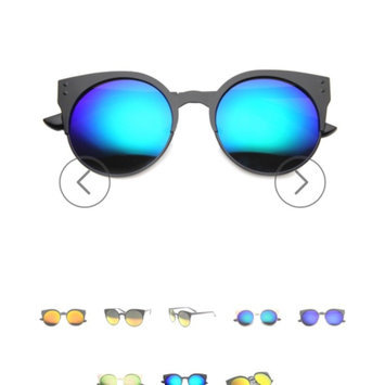 Triple Optic zeroUV - Large Oversized Thin Frame Lovely Heart Shaped Womens Fashion Sunglasses [] uploaded by Anise D.