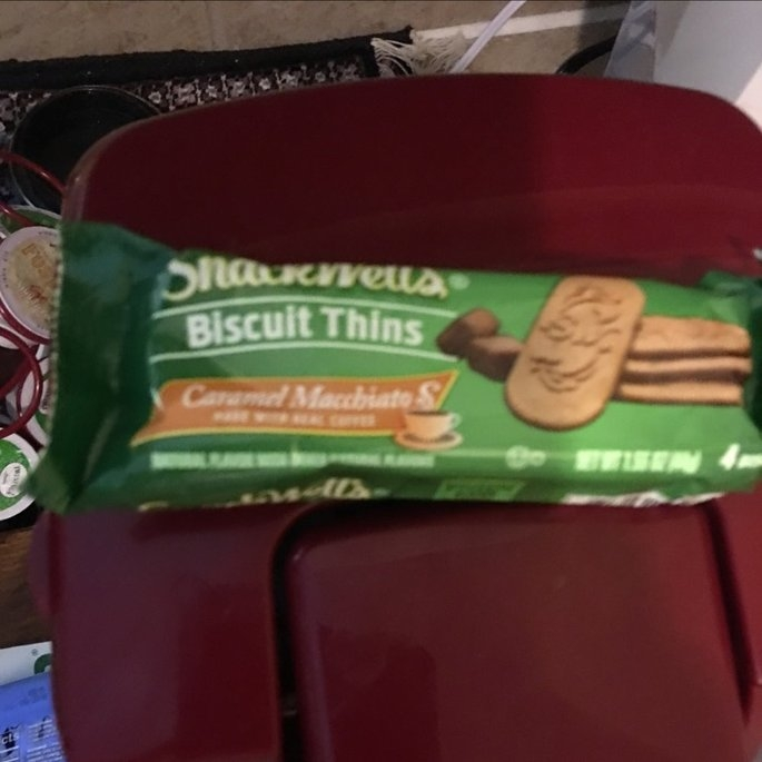 SnackWell's Caramel Macchiato Biscuit Thins uploaded by Kacy W.