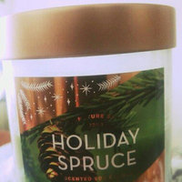 Signature Soy Candle Holiday Spruce - 15.2oz, Green uploaded by Har K.