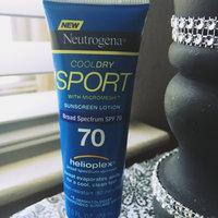 Neutrogena CoolDry Sport Sunscreen Lotion Broad Spectrum SPF 70 uploaded by Tiara B.