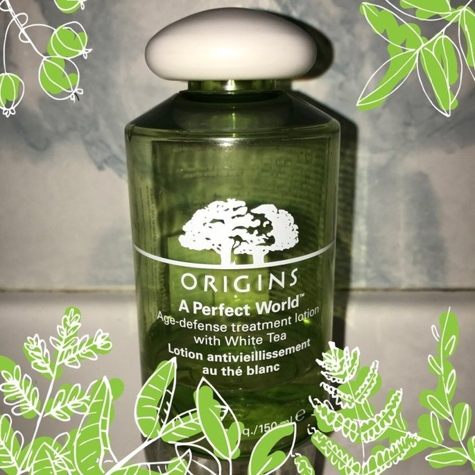Origins A Perfect World Age-Defense Treatment Lotion with White Tea uploaded by Karina M.