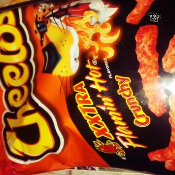 CHEETOS® Crunchy XXTRA FLAMIN' HOT® Cheese Flavored Snacks uploaded by Jas