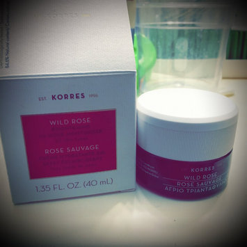 Photo of Korres Wild Rose 24-Hour Moisturizing & Brightening Cream 1.4 oz uploaded by Dora L.