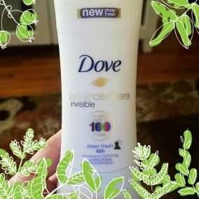 Photo of Dove Invisible Advanced Care Sheer Fresh Antiperspirant uploaded by Renay S.