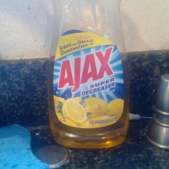 Ajax Super Degreaser Lemon Dish Liquid uploaded by mireya l.
