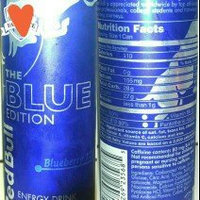 Red Bull Blue Edition Energy Drink uploaded by LeAndra S.