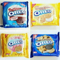 Nabisco Oreo Sandwich Cookies Peppermint Creme Chocolate uploaded by Magalys V.