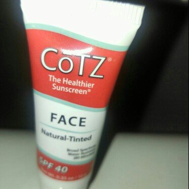 CoTZ Face Sunscreen for Natural Skin Tones