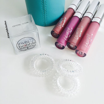 Invisibobble The Traceless Hair Ring Crystal Clear 3 traceless hair rings uploaded by Cassandra R.