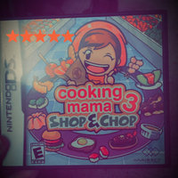 Majesco Sales, Inc. Cooking Mama 3: Shop & Chop Nintendo DS Game MAJESCO uploaded by Paige F.