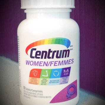 Centrum Women, Multivitamin, Tablets, 120 ea uploaded by Stéphanie S.