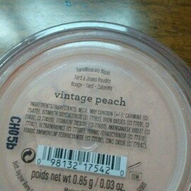 Photo of bareMinerals Loose Powder Blush uploaded by Emmy C.