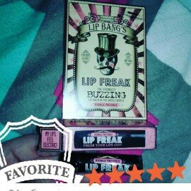 Dr. Lip Bang's Lip Freak Buzzing Balm - Berry Sinister uploaded by Kayla M.